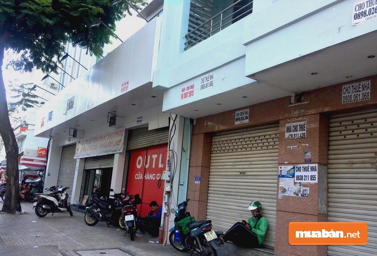 Giá cho thuê mặt bằng nhà phố 5m hiện nay rất đa dạng.