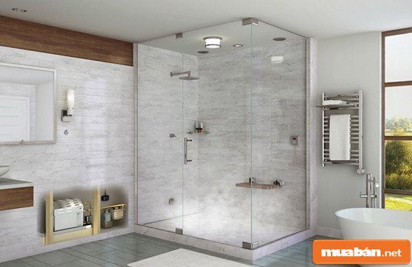 Vách kính nhà tắm và 2 cách chọn phổ biến nhất!