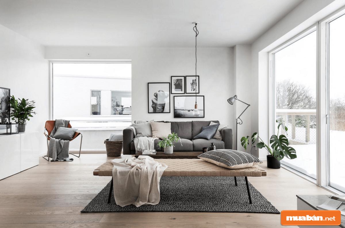 Các họa tiết trong phong cách nội thất này rất đơn giản