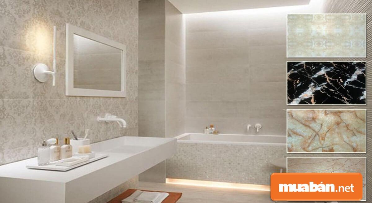 Gia chủ nên chọn những màu sắc tươi sáng khi chọn và thiết kế nội thất phòng tắm đẹp.