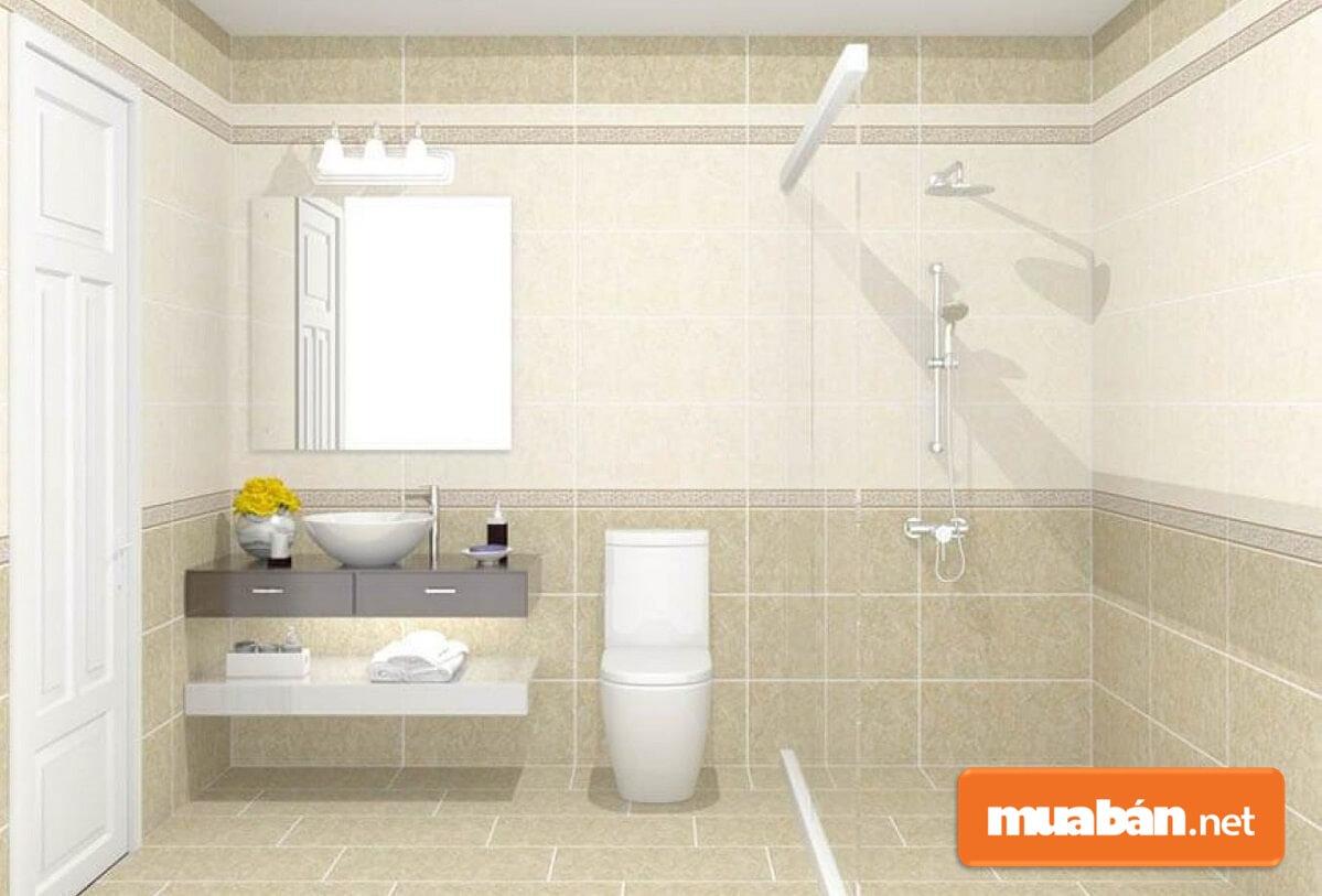 Khi dọn phòng tắm đón năm mới dọn cho gọn gàng là điều cực kỳ quan trọng.