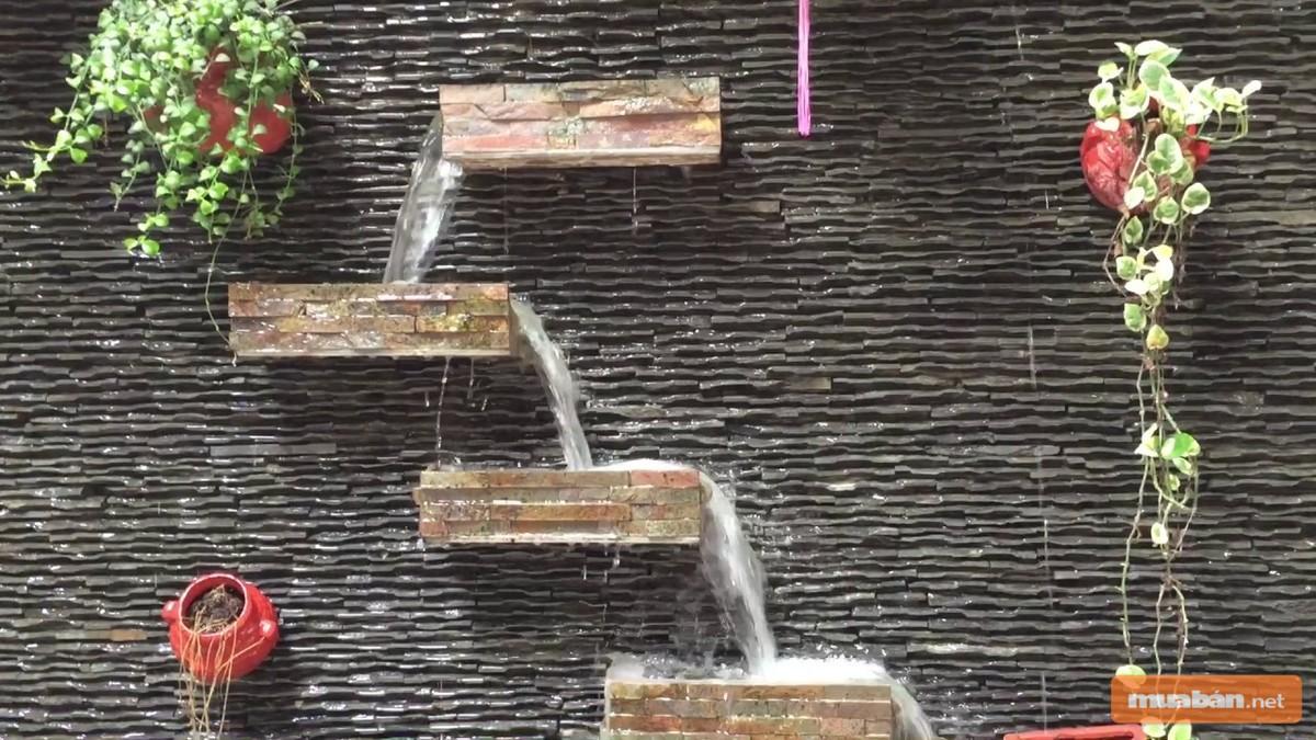 Bạn cần cân nhắc để lựa chọn một thác nước phù hợp với không gian