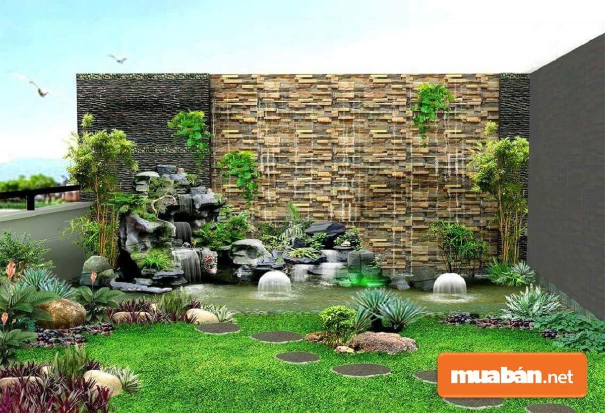 Tiểu cảnh sân vườn còn giúp chủ nhân của chúng được thư giãn sau những giờ phút học hành và làm việc căng thẳng.