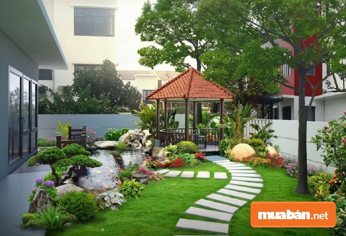 vTính thống nhất chính là yếu tố hàng đầu mà gia chủ cần quan tâm khi muốn có tiểu cảnh sân vườn nhỏ đẹp.