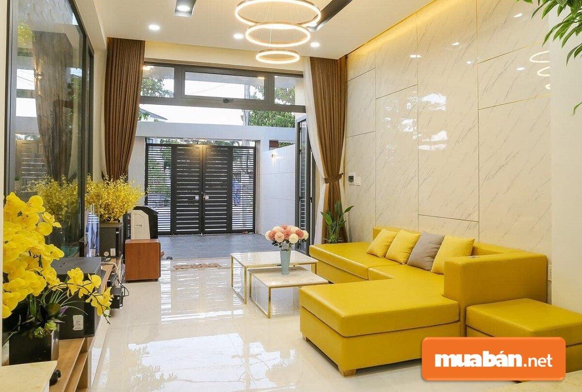 Nên đặc biệt chú trọng nhiều đến thiết kế trang trí nội thất phòng khách nhà cấp 4.