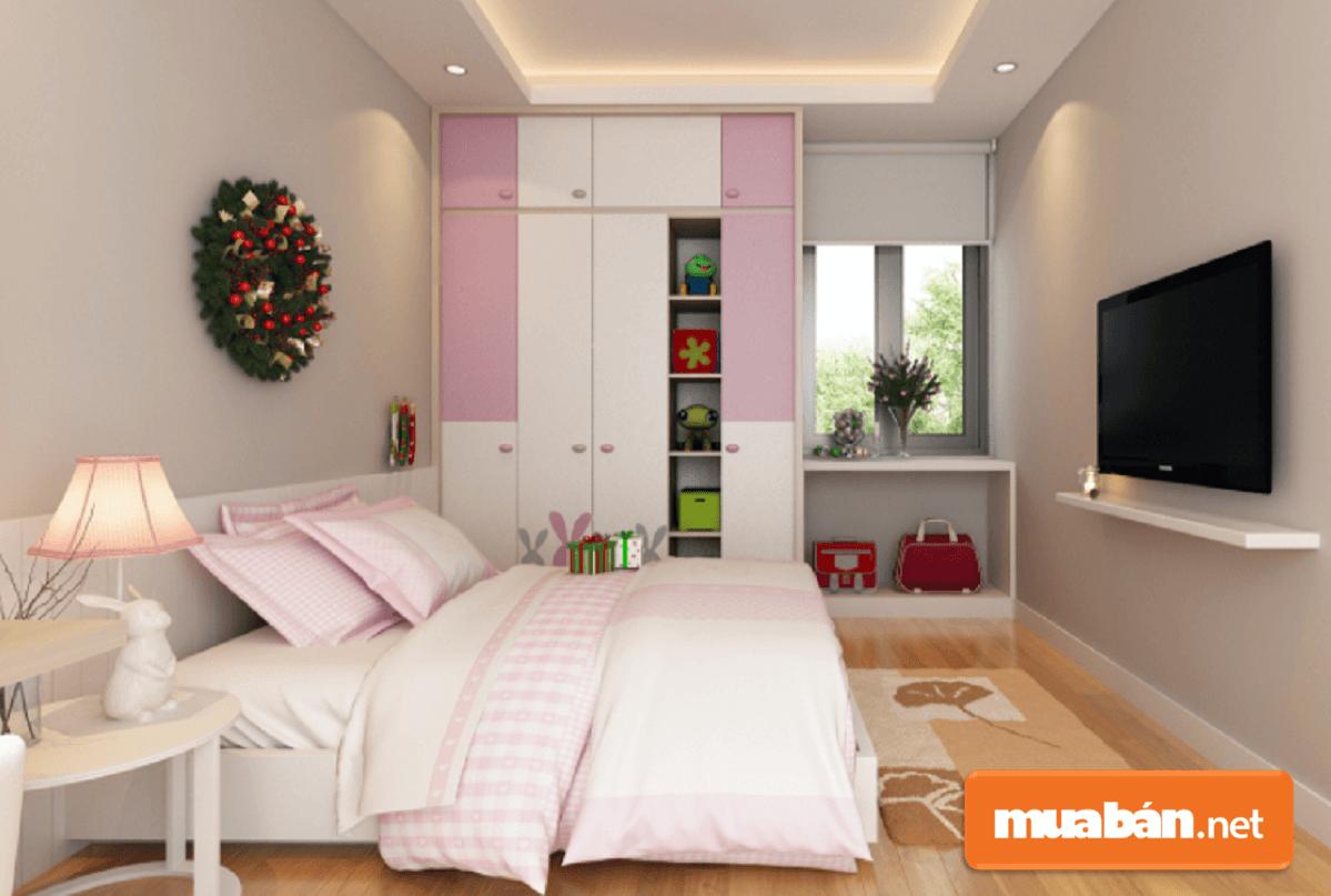 Phong cách phòng ngủ có thể thiết kế chủ yếu linh động theo sở thích của các thành viên trong gia đình.