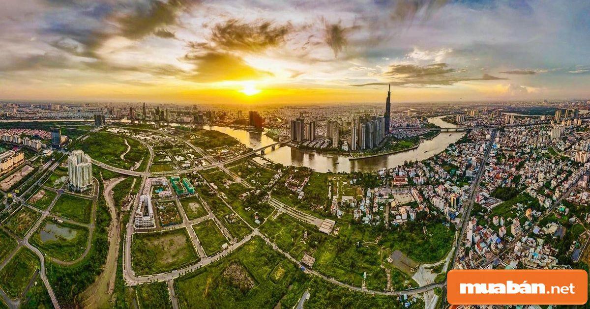 Khu vực này ngày càng thu hút giới đầu tư nhờ có hạ tầng, giao thông và kinh tế phát triển.