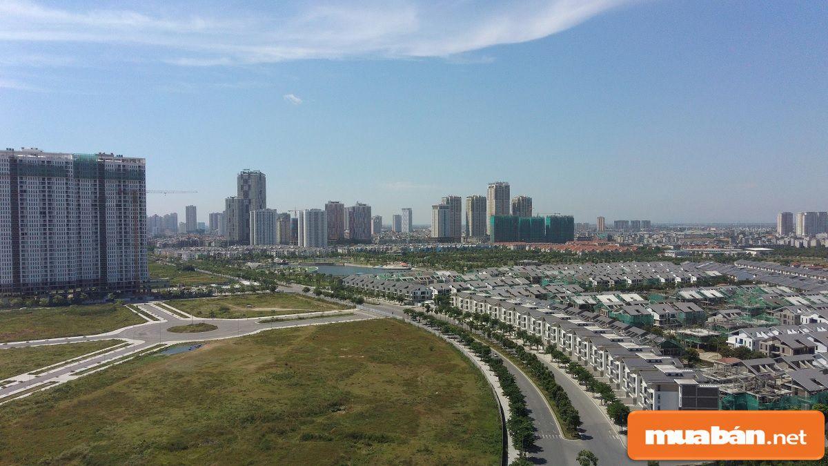 Hạ tầng phát triển thì bất động sản ở đó có rất nhiều tiềm năng để đầu tư.