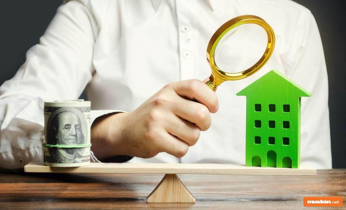 Bạn có thể vay vốn dựa trên bất động sản đã được định giá