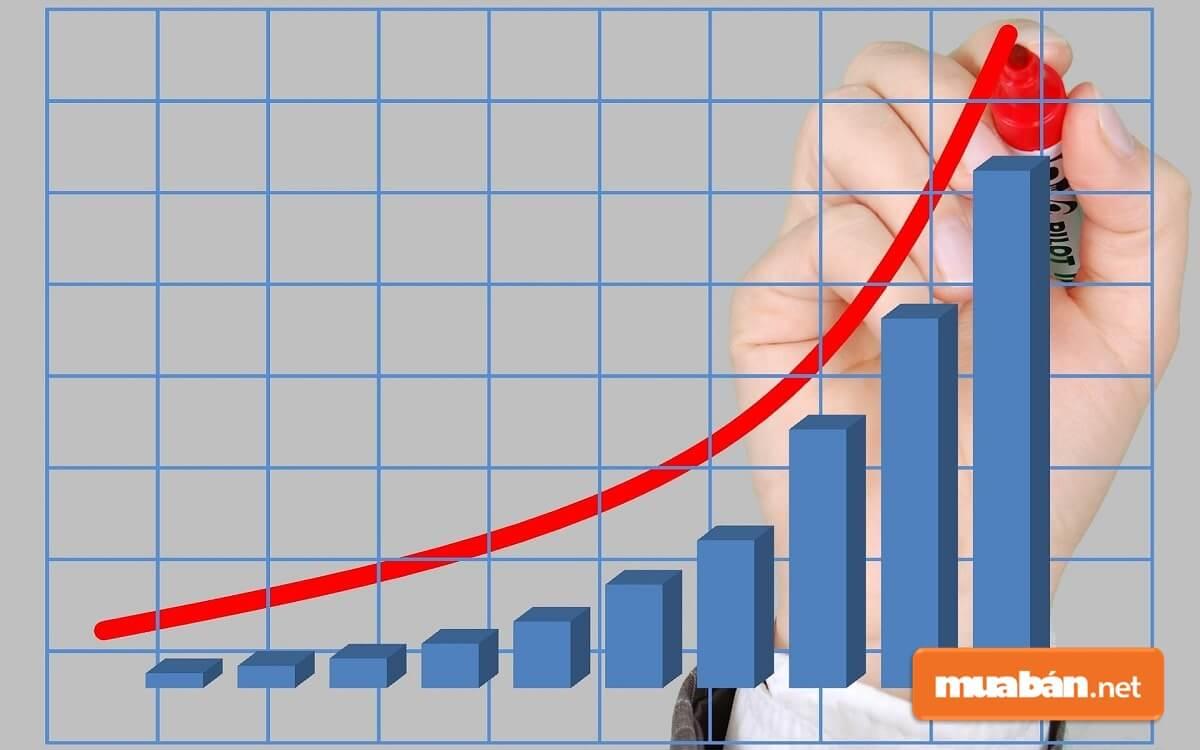 Tỷ lệ lợi nhuận ròng cho biết lợi nhuận chiếm bao nhiêu % trong tổng doanh thu của DN.