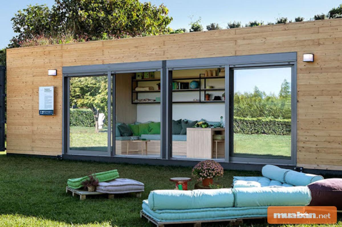 Thiết kế đơn giản này sẽ mang tới cho bạn không gian nghỉ ngơi ấn tượng