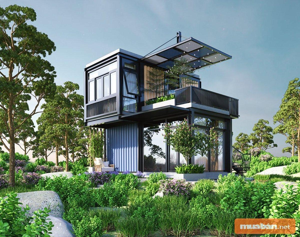 Bạn nghĩ sao về căn nhà container đặc biệt sang trọng này?