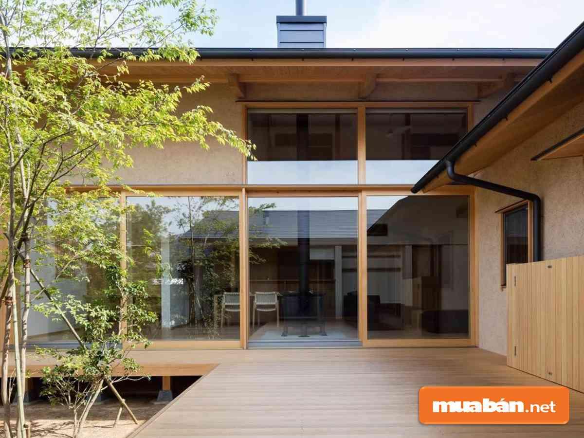 kết cấu không gian nhà Nhật Bản
