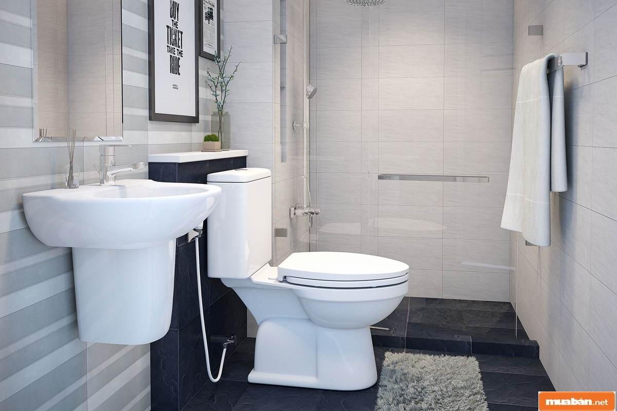 Nhà vệ sinh là 1 phần quan trọng trong tổng thể kiến trúc công trình