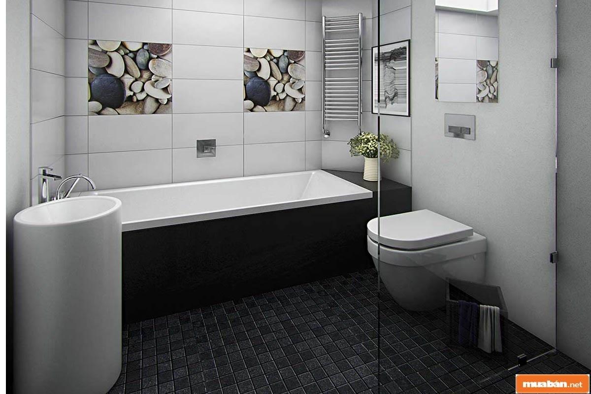 Cân đối thêm các yếu tố phong thủy khi thi công, xây dựng nhà vệ sinh đẹp