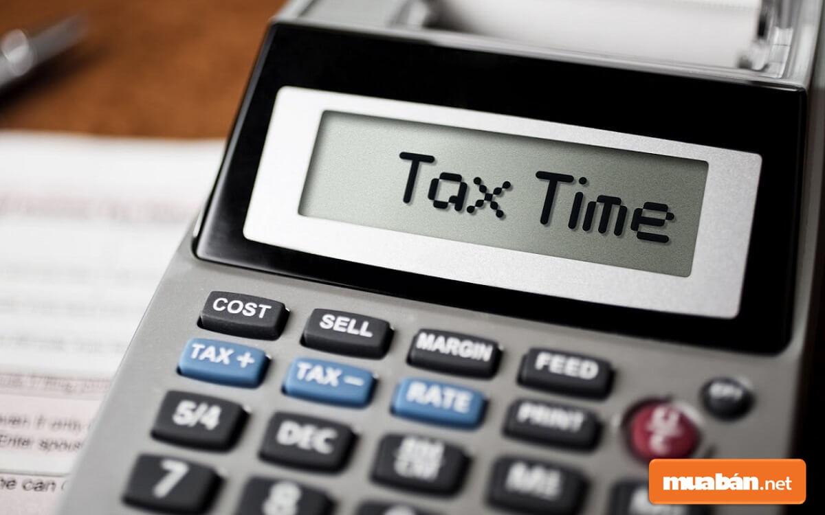 Cách tính thuế trước bạ khi chuyển nhượng đất khá đơn giản.