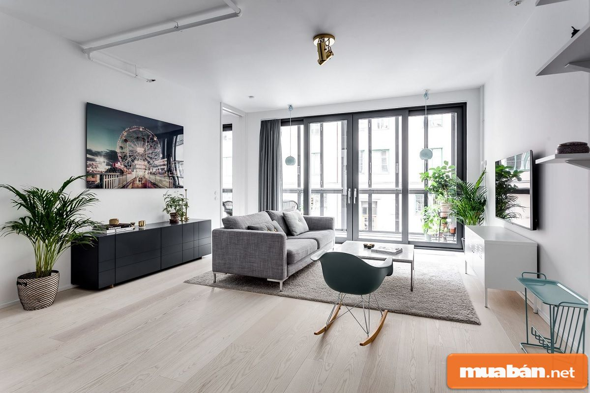 Bạn không những phải lựa chọn nội thất theo phong cách mà còn bố trí sao cho phù hợp nhất.