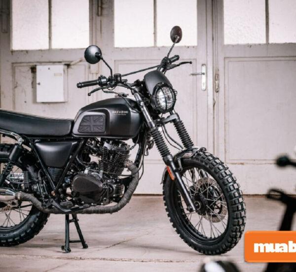 Brixton BX 150 thu hút bởi sự cổ điển và mạnh mẽ