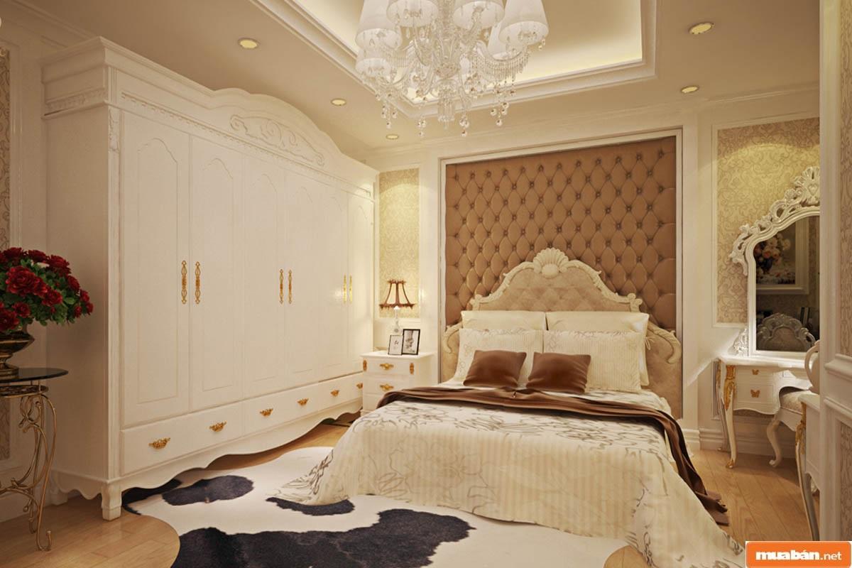 Thiết kế nội thất với phong cách cổ điển mang đậm tính sang trọng, xa hoa