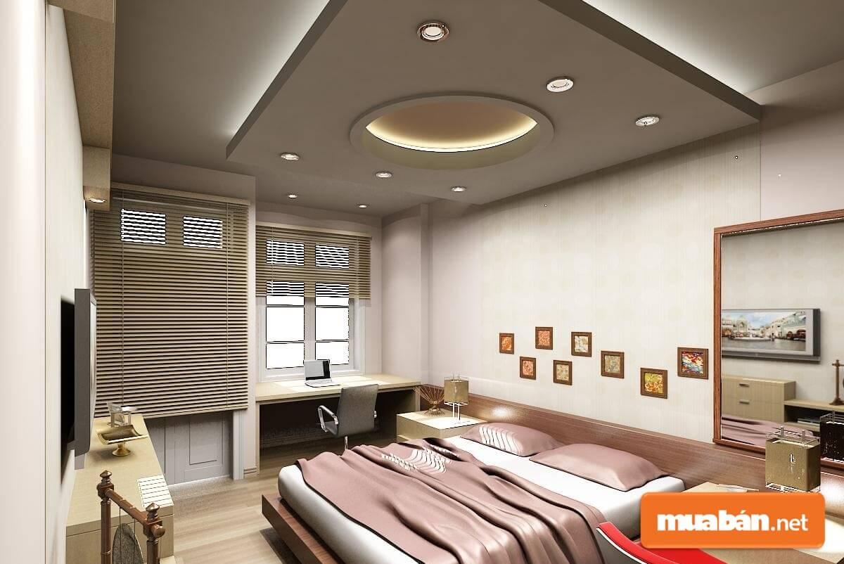 Tường cách âm là loại tường được thiết kế từ những vật liệu hoặc kết cấu đặc biệt giúp ngăn chặn sự truyền đi của âm thanh tạo nên những không gian yên tĩnh.