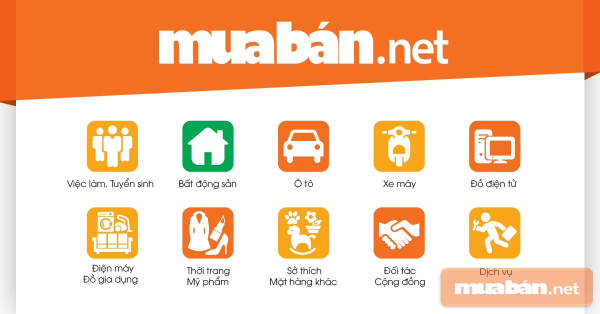 Muaban.net là kênh uy tín, có nhiều năm hoạt động trong lĩnh vực rao vặt, thanh lý đồ đạc