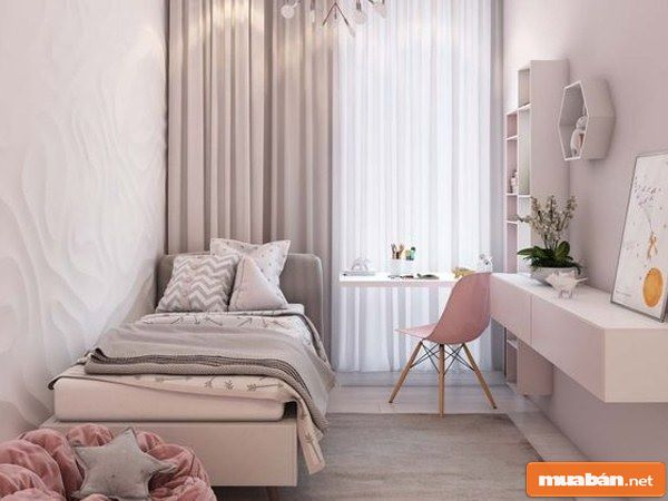 Trang trí phòng ngủ nhỏ đẹp hơn với 3 bí kíp đơn giản!