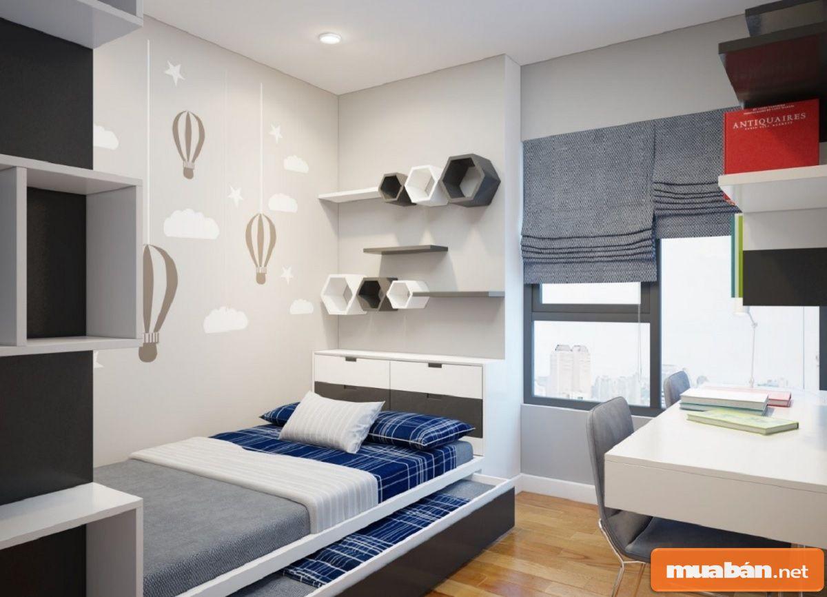 Nội thất thông minh sẽ giúp bạn tiết kiệm được không gian phòng rất nhiều.
