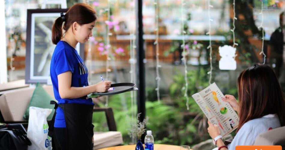Công việc phụ nhà hàng tạm thời cũng được nhiều người lựa chọn