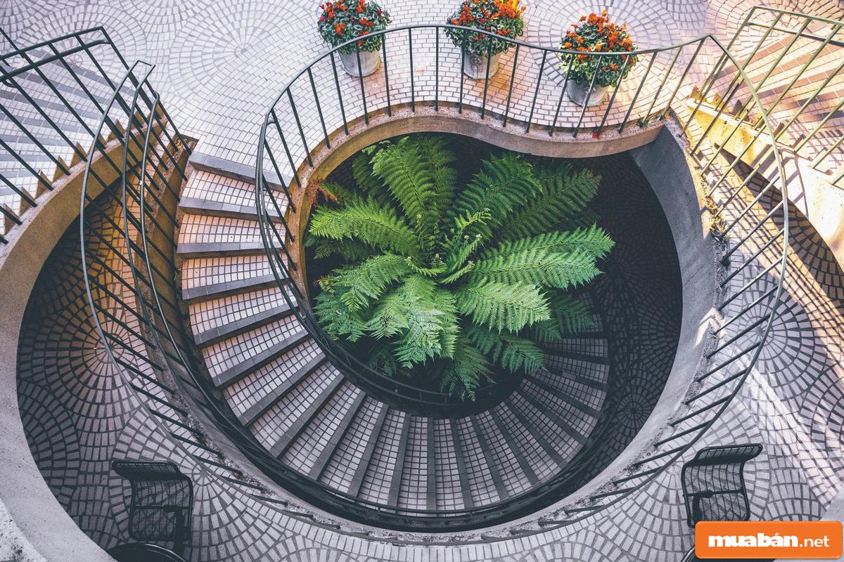 Cầu thang xoắn 03