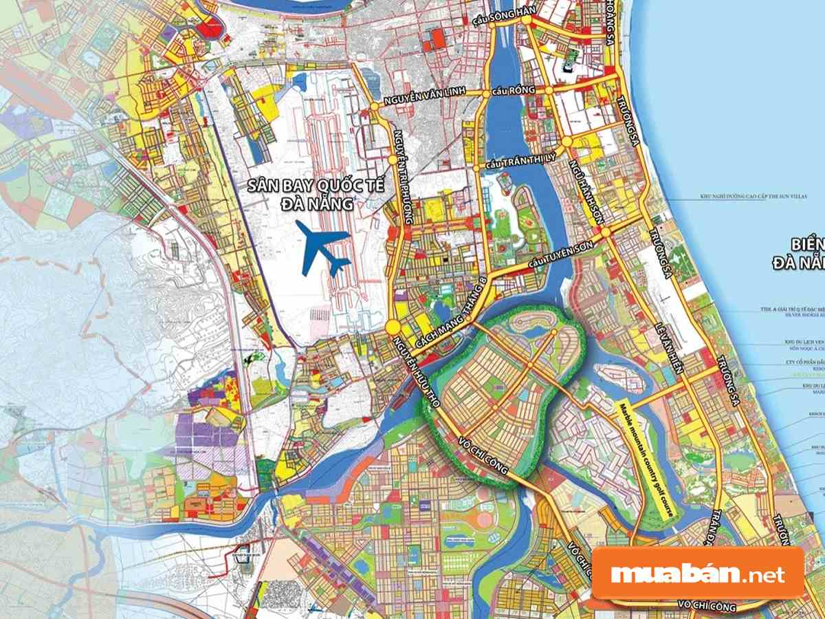 Thông tin vị trí đất Nam Cầu Nguyễn Tri Phương