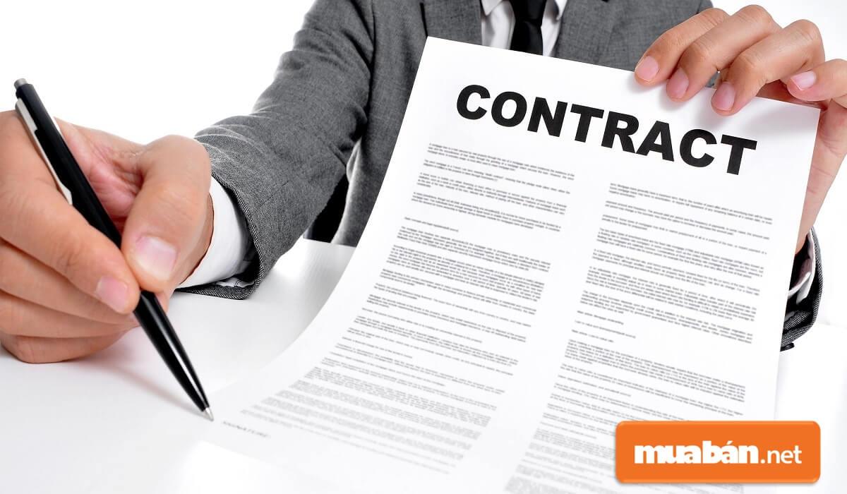 Hợp đồng này sẽ có tác dụng thay thế chức năng của bản hợp đồng chính