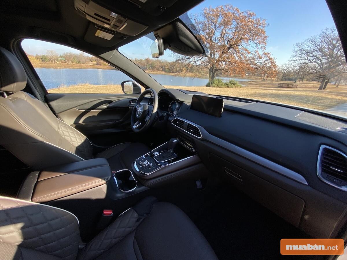Nội thất của Mazda CX9 được đánh giá là xứng tầm siêu phẩm