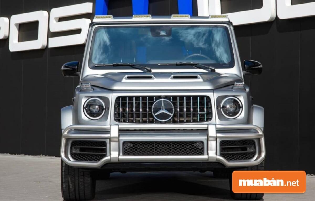Mercedes-AMG G63 2020 được trang bị động cơ mạnh mẽ V8 4.0L tăng áp kép,