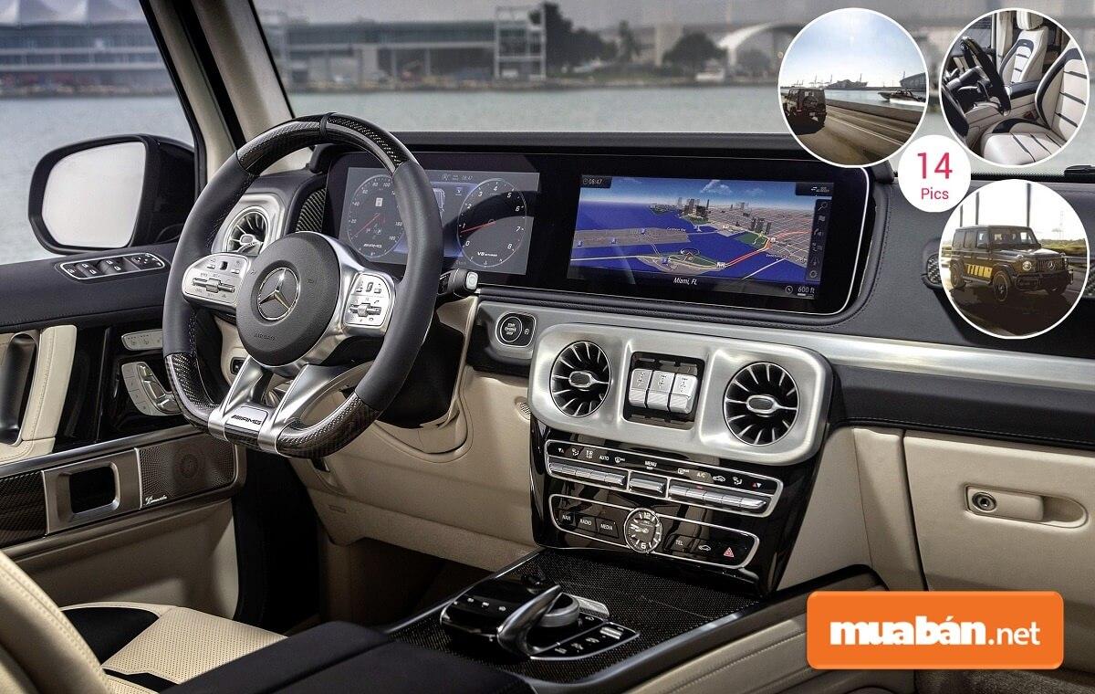 Nội thất của xe không hề làm những tín đồ của dòng xe Mercedes thất vọng.