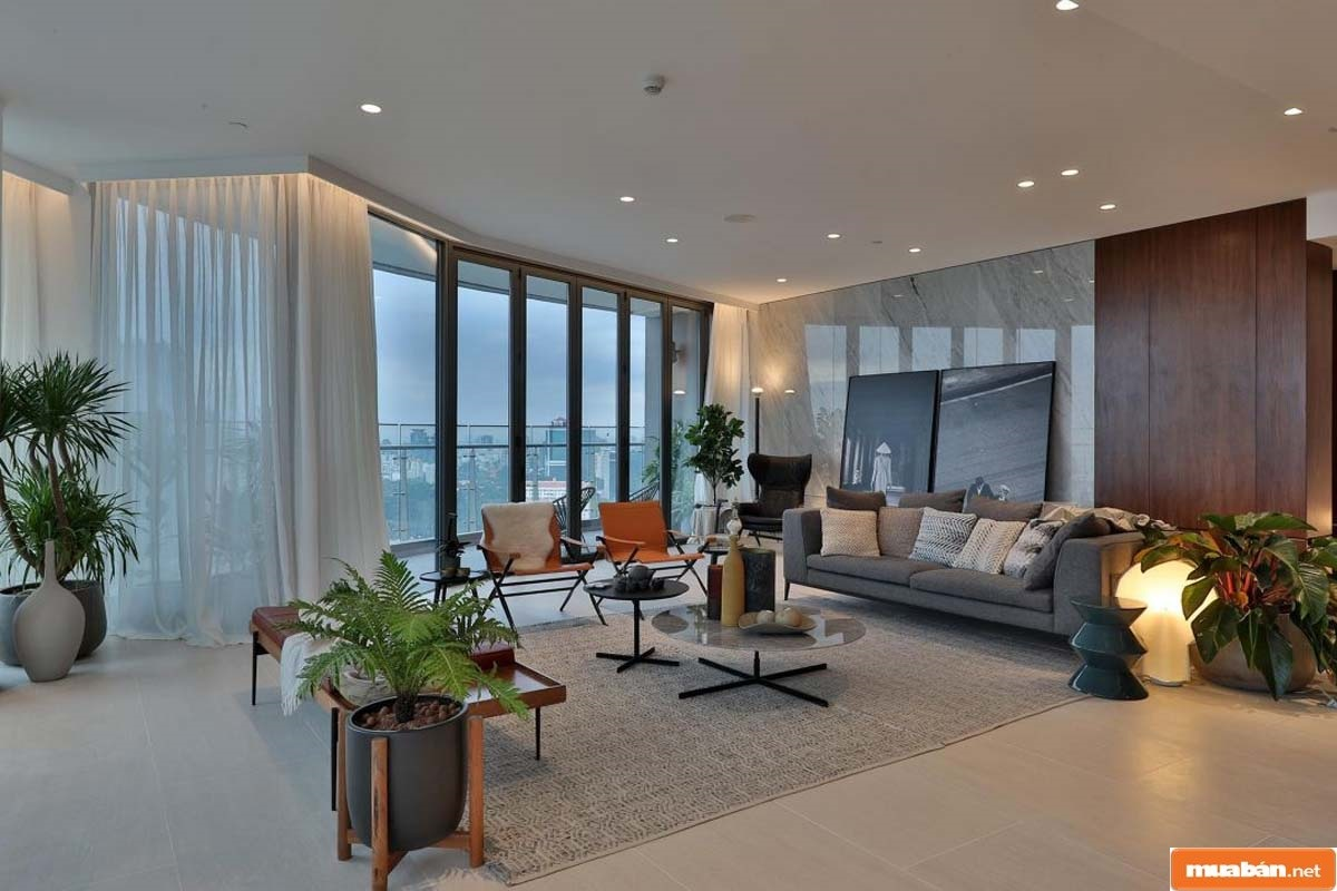 Cách bố trí nội thất đẳng cấp là điểm được đánh giá cao hàng đầu ở mô hình căn hộ này