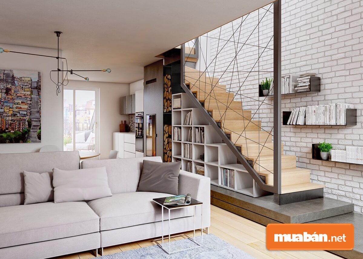Để thiết kế và trang trí phòng khách nhà ống đẹp thì gia chủ cần phân chia bố cục, xác định phong cách nội thất phù hợp.