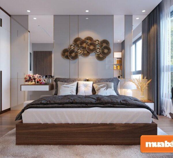 Gợi ý thiết kế phòng ngủ master hiện đại, hợp phong thủy