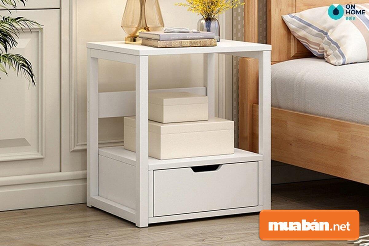 Tab đầu giường thường được gia chủ đặt ở hai bên phần đầu của giường để phục vụ nhiều mục đích sử dụng khác nhau.