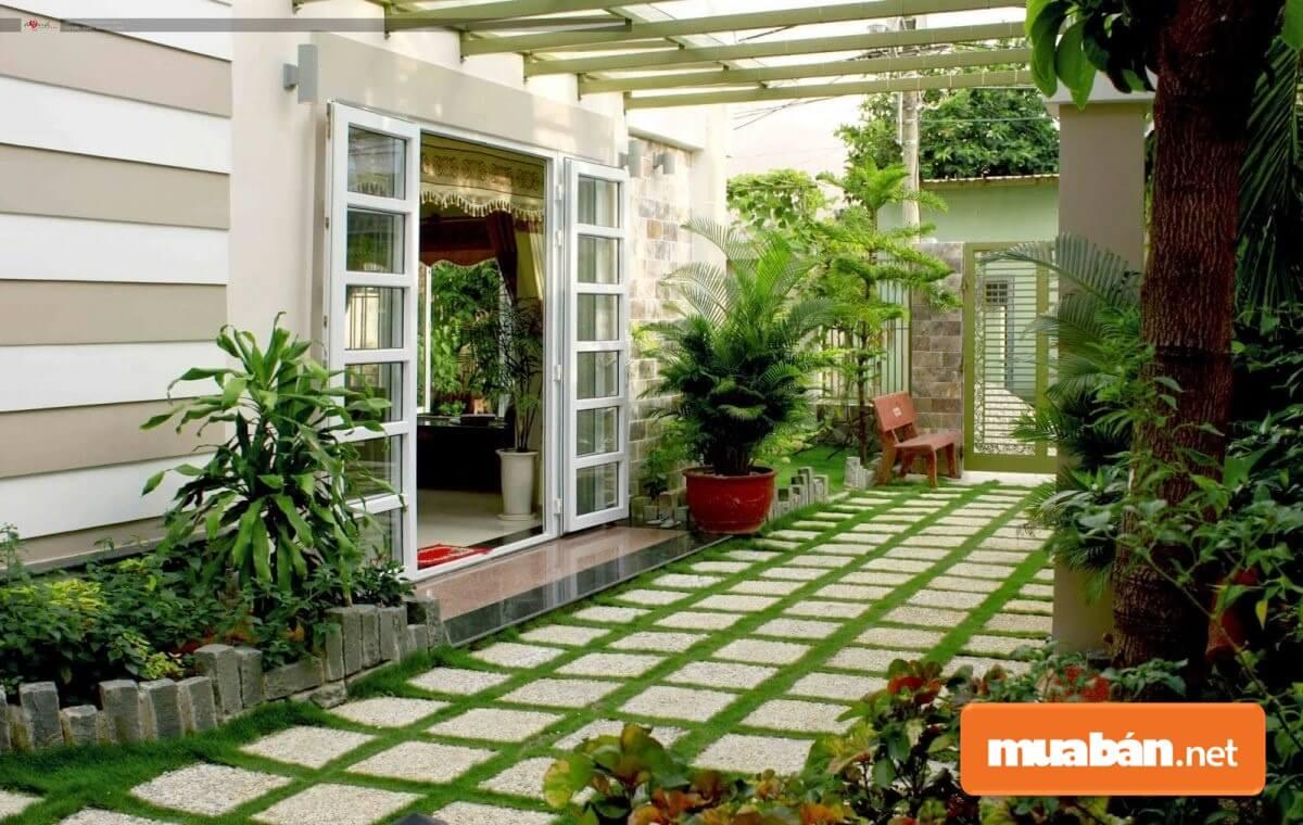 Tiểu cảnh sân vườn là một công trình thiên nhiên thiết kế thu nhỏ kết hợp giữa nhiều yếu tố.