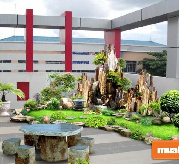 Những ý tưởng thiết kế tiểu cảnh sân vườn đẹp