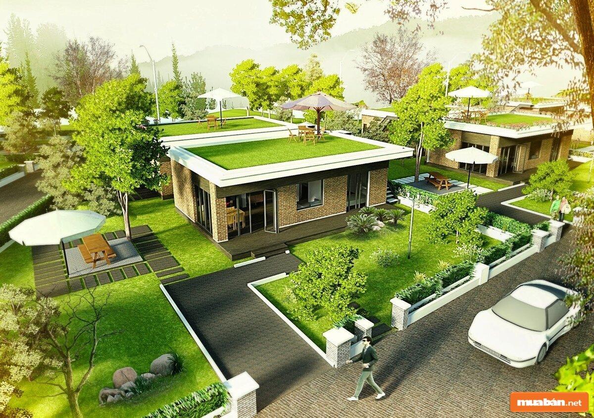 Tăng diện tích sân vườn là cách làm đơn giản nhất
