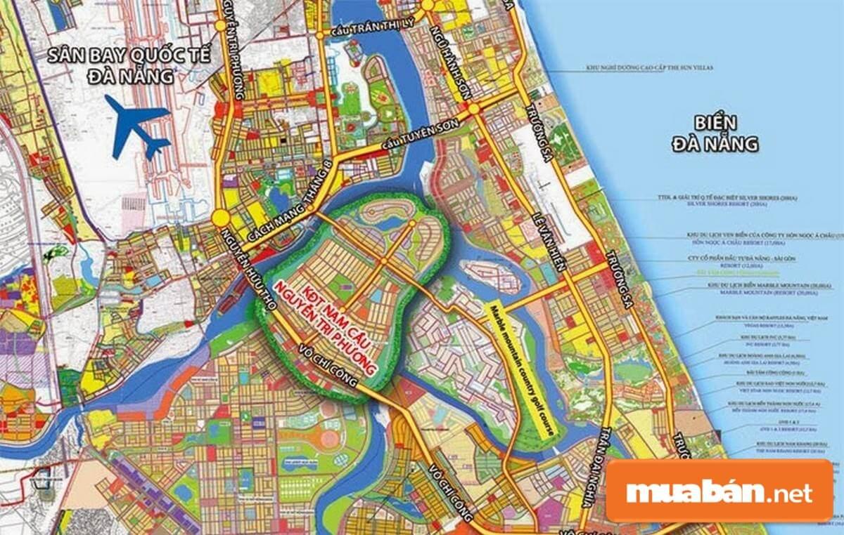Dự án tọa lạc ngay ở vị trí được chính quyền TP Đà Nẵng ưu ái đầu tư phát triển.