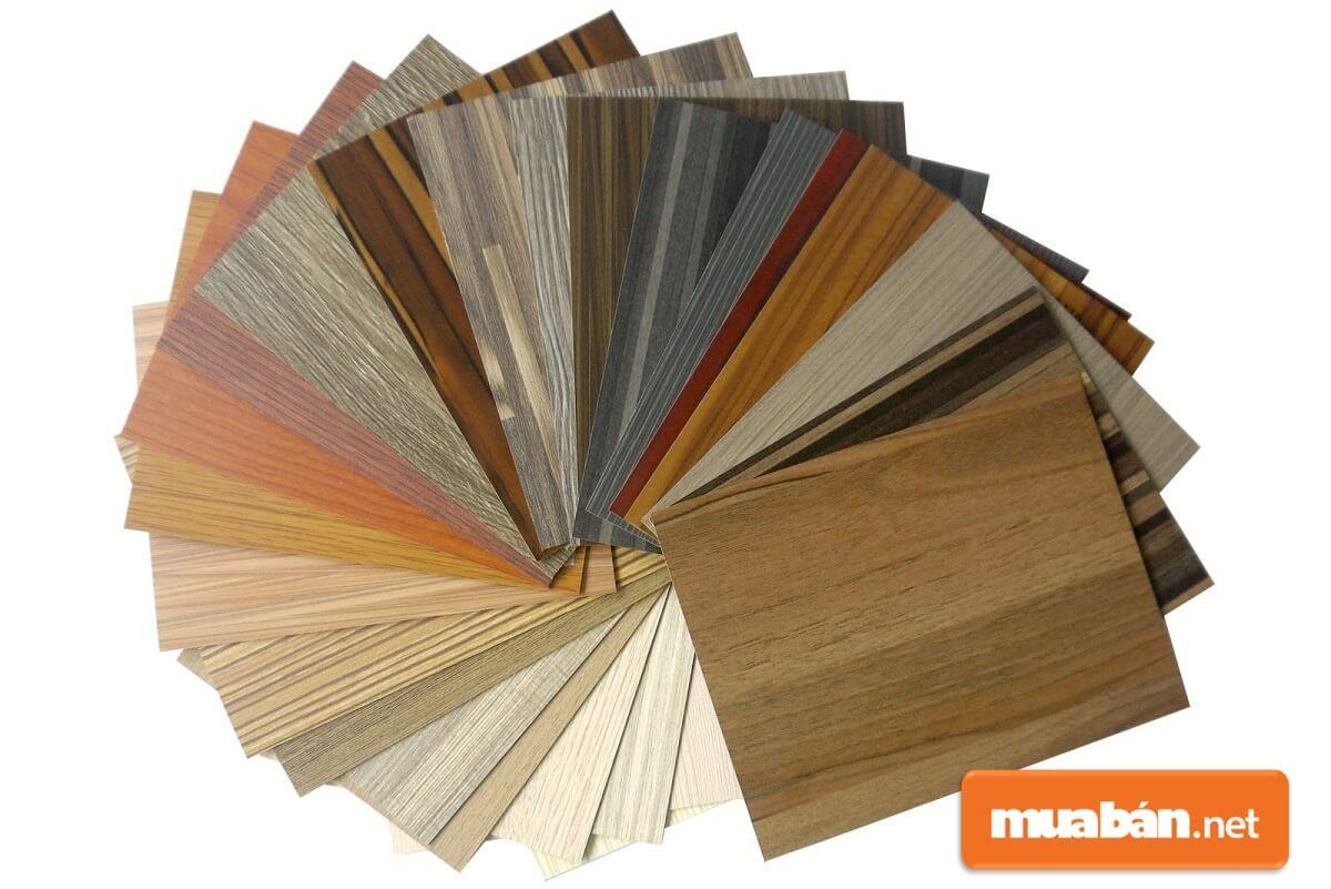 Tấm Laminate có màu sắc đa dạng mang đến cho khách hàng nhiều sự chọn lựa