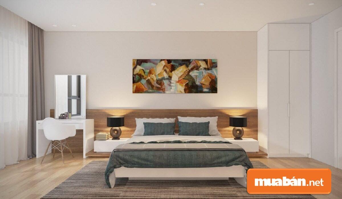 Sự phối hợp hoàn hảo giữa các nội thất gỗ laminate tô điểm cho không gian thêm ấn tượng