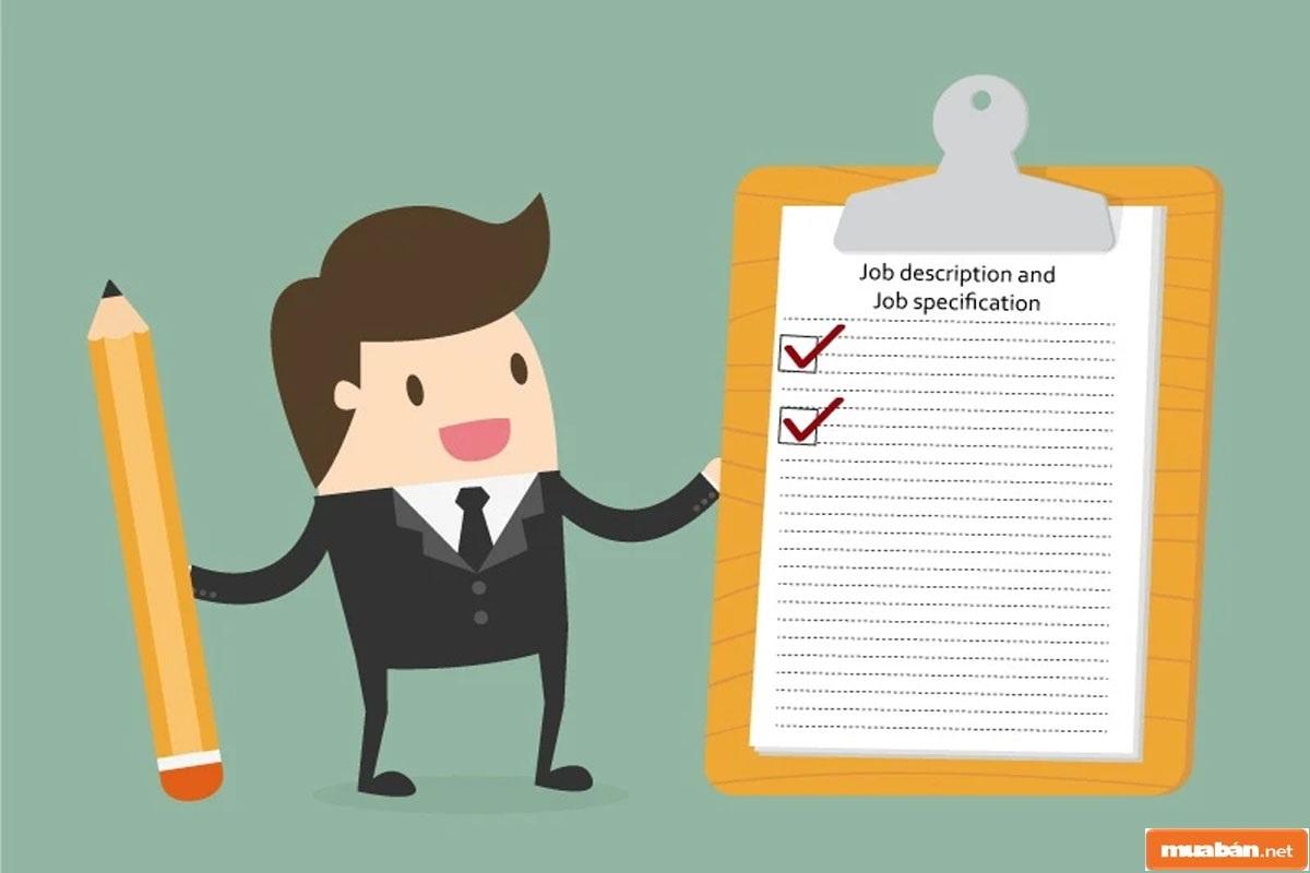 Phải minh bạch trong tính chất, mô tả công việc khi tuyển nhân viên