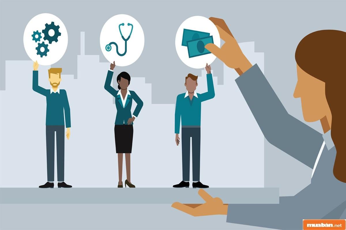 Trả công tương xứng cho từng vị trí tuyển dụng cũng là yếu tố quan trọng không kém, giúp tuyển nhân viên chất lượng và phù hợp nhất