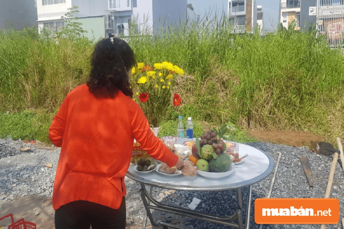 Người cho mượn tuổi làm nhà sẽ phải có mặt trong nghi thức động thổ