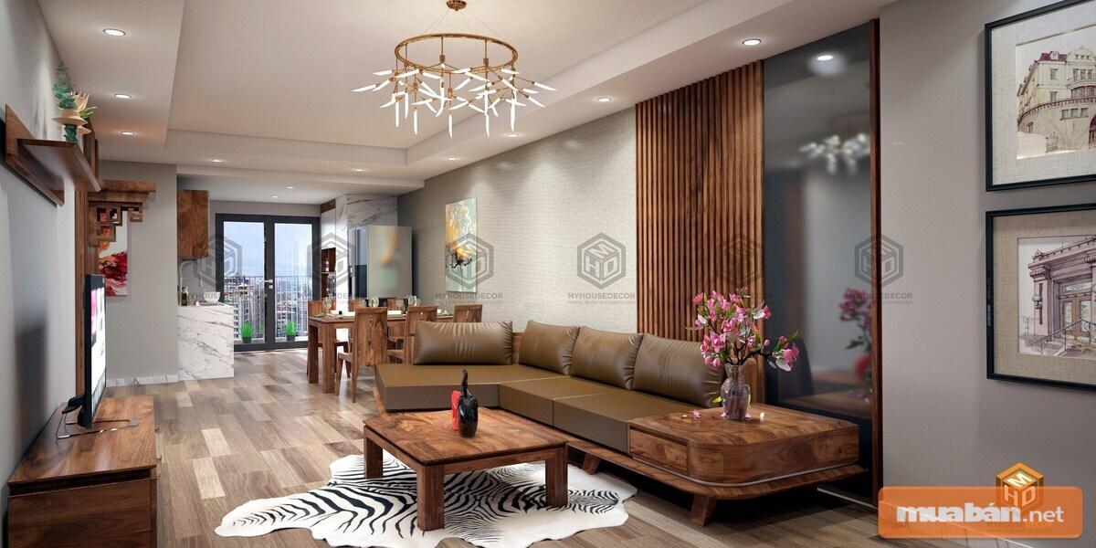 Nên đảm bảo nội thất chung cư thể hiện được phong cách của gia chủ
