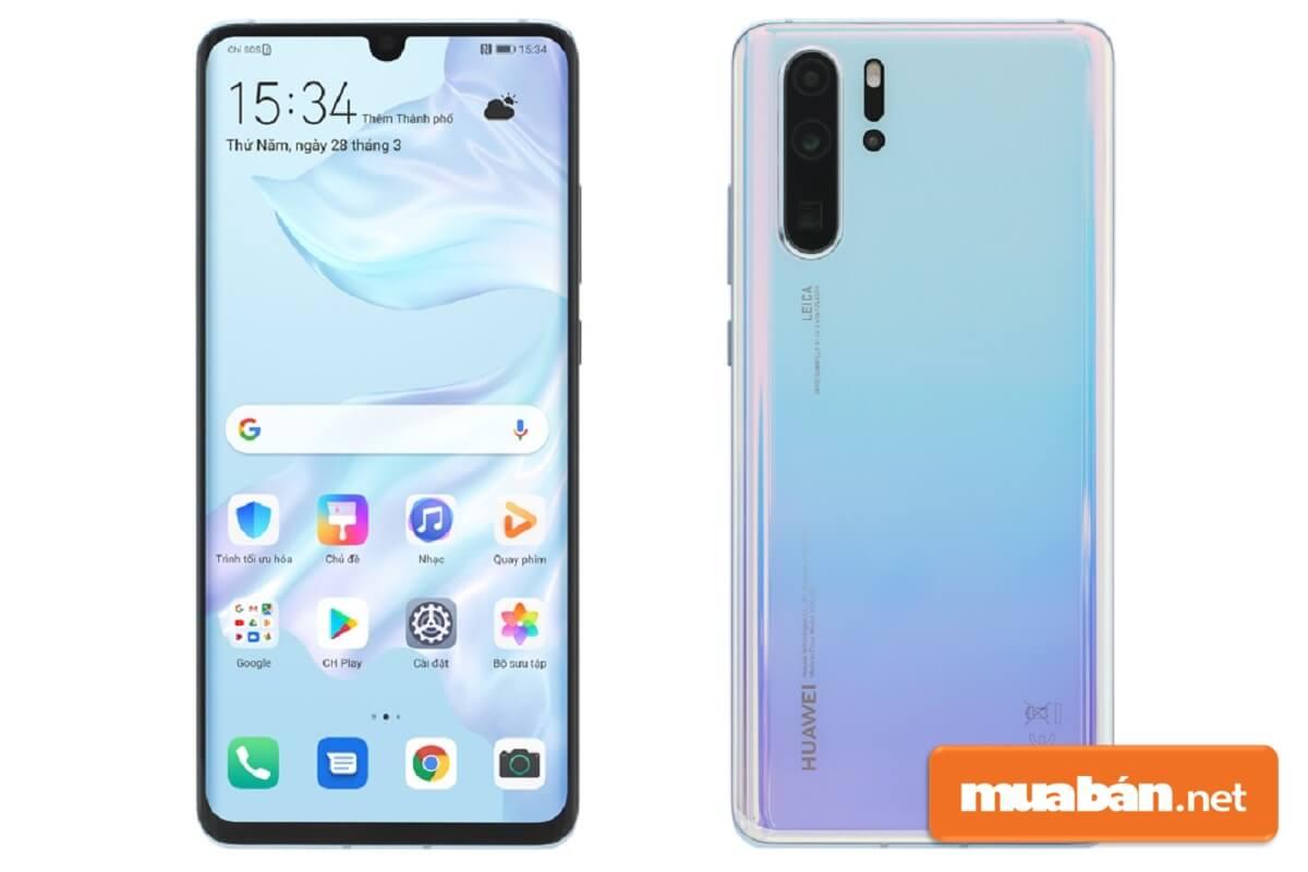 Ngoại hình của smartphone Huawei P30 Pro nhiều điểm cộng đáng gườm.