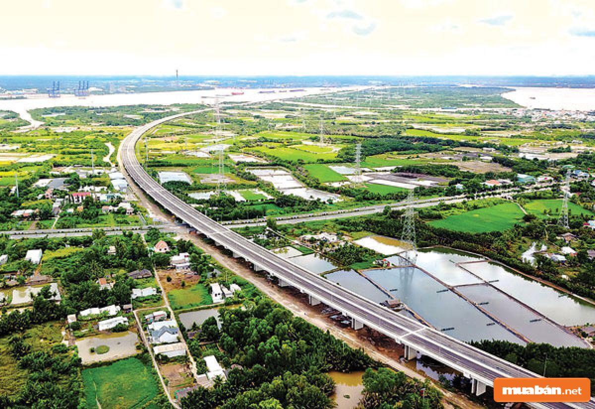 Long An sở hữu hạ tầng giao thông khiến nhiều người mơ ước
